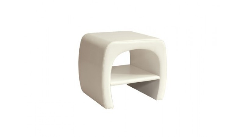 bedside table TOKYO white